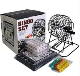 Bingo Juego Set Kit Juguete Mesa Metalico