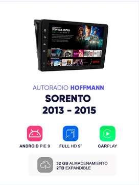 Autoradio Hoffmann Homologado Kia Sorento 2013 - 2015 9″  Android 9.1d