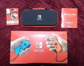Nintendo switch + $60 en regalos