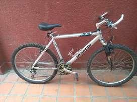 Vendo Bicicleta Bianchi 26 Aluminio