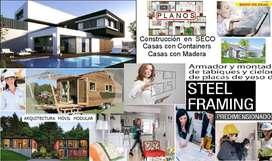 Construccion En Seco Alpina Aprende Conteiner Casa Ahorr Kit x73