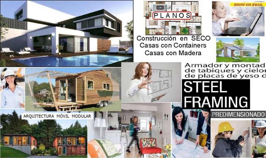 Construccion En Seco Alpina Aprende Conteiner Casa Ahorr Kit x73 0