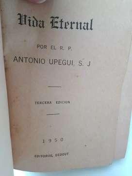 """En español y latín """"Vida eternal"""""""