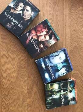 DVDs de la serie SUPERNATURAL
