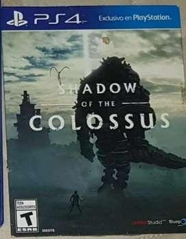 Colossus y motogp 17 PS4 usados