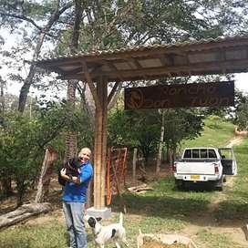 Alquilo Finca eco agroturística. 800m de las cascadas la motilona, 7km del municipio de Paicol Huila