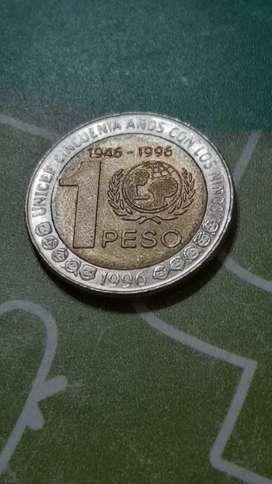 Moneda de 1 peso Argentina