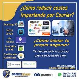 Seminario taller para importar por courier / Ideal para emprendedores con poco capital