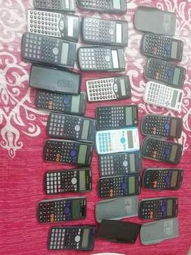 Set de calculadoras se venden juntas o por separado