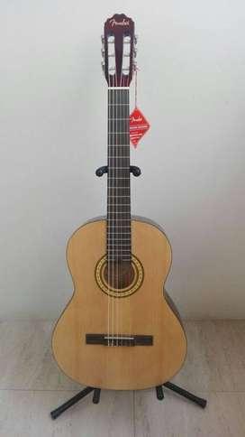 bella guitarra acustica fender fc1