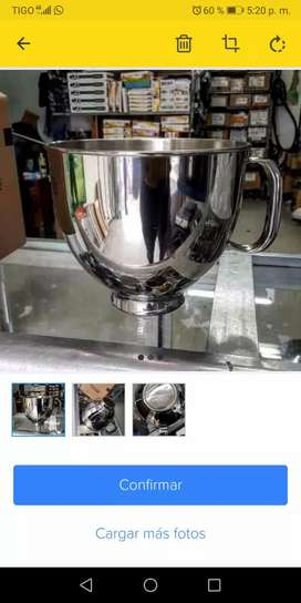 Bolw o tazon de batidora kitchenAid