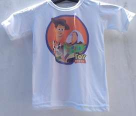 Remera Talle 4 Toy Story