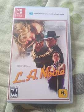 Se vende o se cambia L.A. noire se vende o se cambia por otro juego