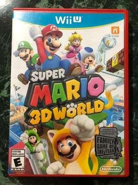 Mario 3d land Nintendo wiiu // snes nes atari ps3 ps4 sega n64 3ds