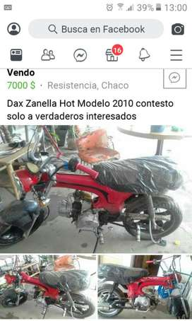 Vendo Zanella Hot Modelo 2010 Mp