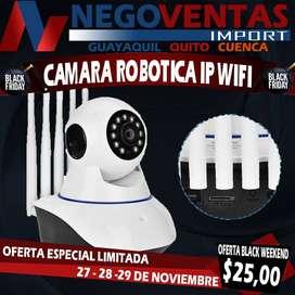 CAMARA ROBOTICA IP EXCLUSIVAMENTE EN TOTAL DESCUENTO SOLO HASTA ESTE MES