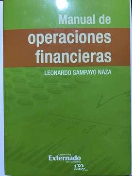 Libro Manual de Operaciones Financieras