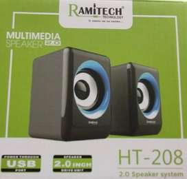 Parlante para computador Multimedia y otros dispositivos HT 414 Ramitech 2.0 USB