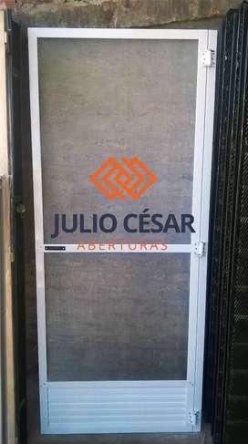 Puerta Mosquitero 80x200 malla aluminio! OFERTA!!! : : FABRICAMOS : :