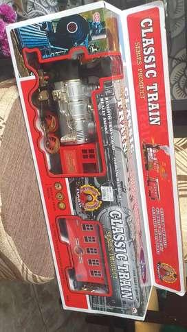 Vendo juguetes un tren  eléctrico y un carro de luces a control remoto nuevos
