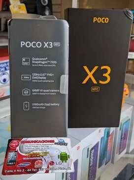 POCO X3 6GB/64GB NUEVOS LIBRES