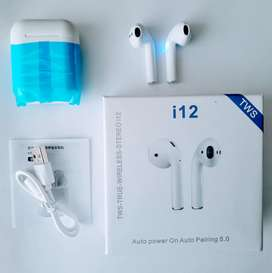 Audifonos Bluetooth i12