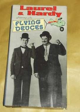 LAUREL &JARDY CINTA VHS ORIGINAL