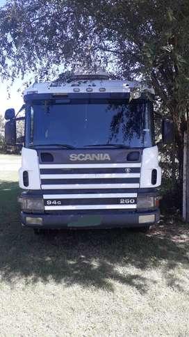 Vendo scania 260 y un acoplado randon 2009