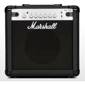 Amplificador De Guitarra Electrica Marshall Mg15CFR 15 W