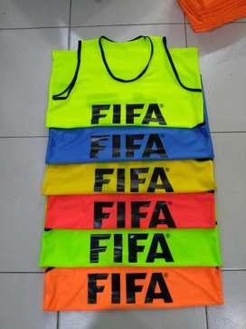 Petos de Fútbol con Logo Estampado