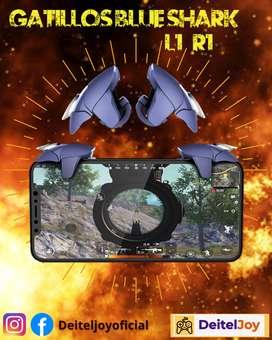 Gatillos BlueShark para teléfono móvil L1 R1