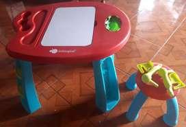 Mesa de trabajo para niños@