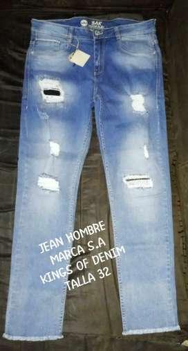 Jean  de hombre en promoción