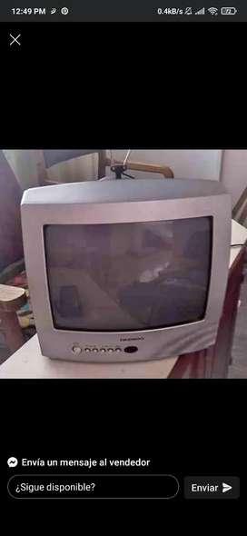 Televisor Daewoo 14 Pulgadas.