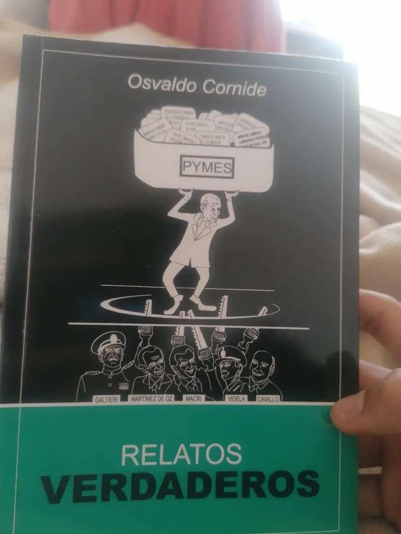 Libro Osvaldo Cornide RELATOA VERDADEROS 0