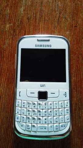 Vendo celular Samsung gt s3350.