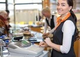 Se busca Una señorita cajera polifuncional  honrada y trabajadora para restaurante información por interno.