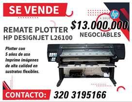 En venta!! Remate Plotter de Impresión gran formato HP