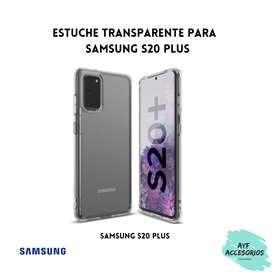 Estuche Para Samsung S20 PLUS Transparente Rígido