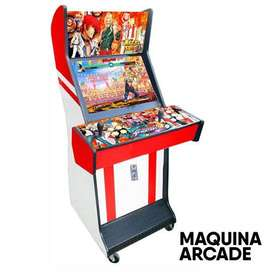 Maquina arcade king of figthers monedera