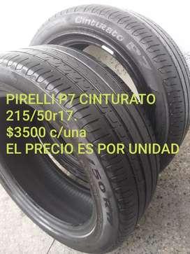 Neumaticos pirelli p7 cinturato 215/50r17