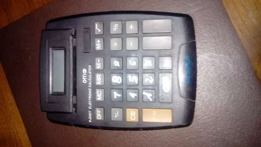 Calculadora. Grande a Pila 0