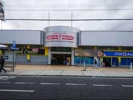 Arriendo local comercial en Plaza Santa María 6 de Diciembre