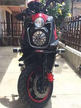 Yamaha Bws X Engallada