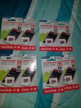 Memoria Micro Sd de hasta 128 Gb Clase 10