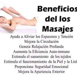 Hago masajes a domicilio