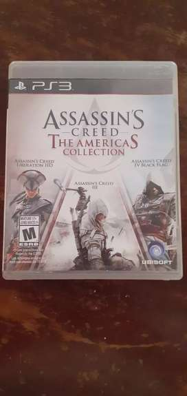 Vendo Assassins creed the americas collection ps3