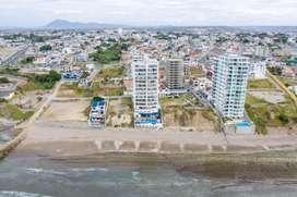 Venta terreno para construcción Edificio frente al mar en Manta