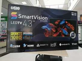"""Televisor smart visión 43"""" full hd"""