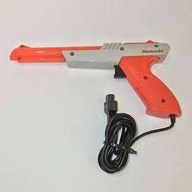 Pistola para nintendo NES zapper gun.